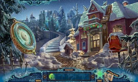 Wimmelbildspiel Christmas Eve: Mitternachtsruf